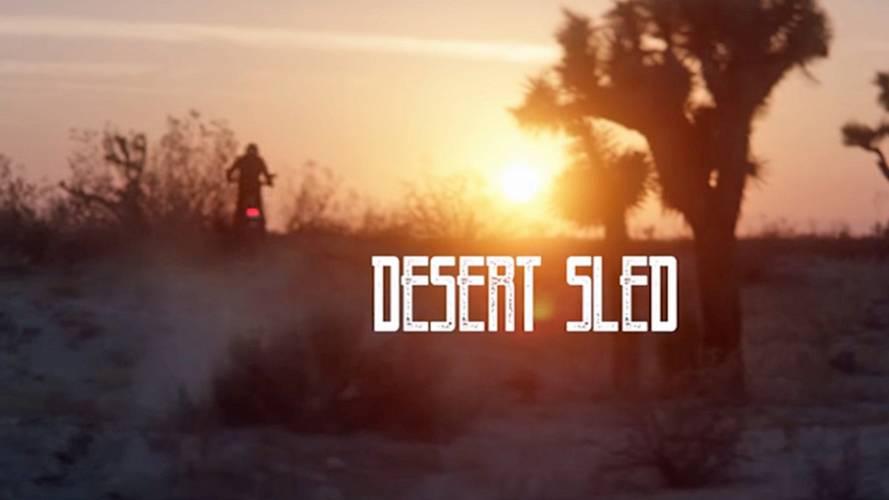 Ducati Teases Scrambler Desert Sled