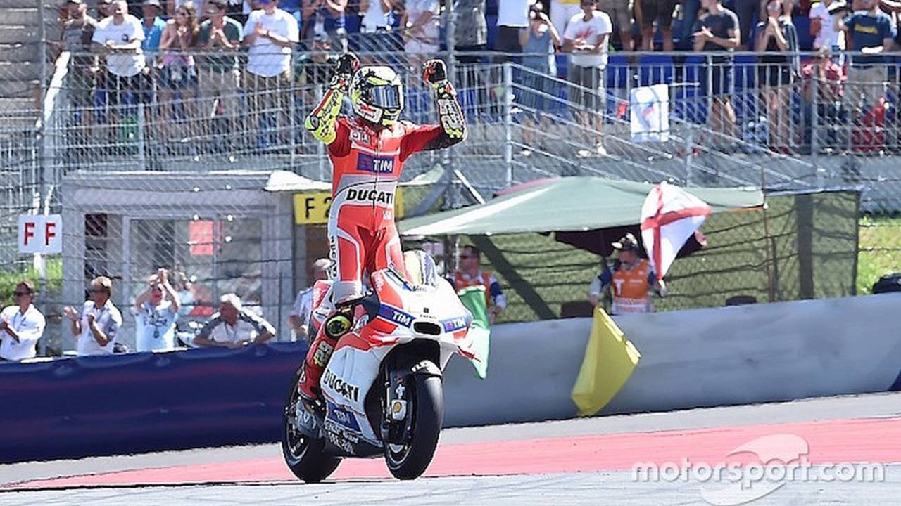 Austria MotoGP: Iannone Beats Dovizioso in Ducati Duel