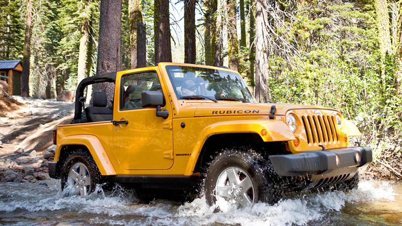 Platz 10: Jeep Wrangler