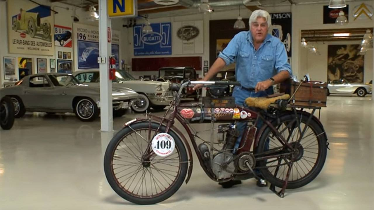 Jay Leno Let Loose on 1912 Indian