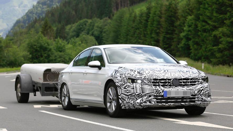 VW Passat Facelift (2019) als Erlkönig