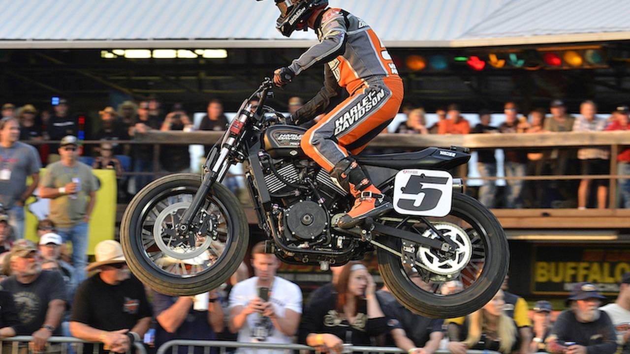 Harley XGR750 Makes Sturgis TT Podium