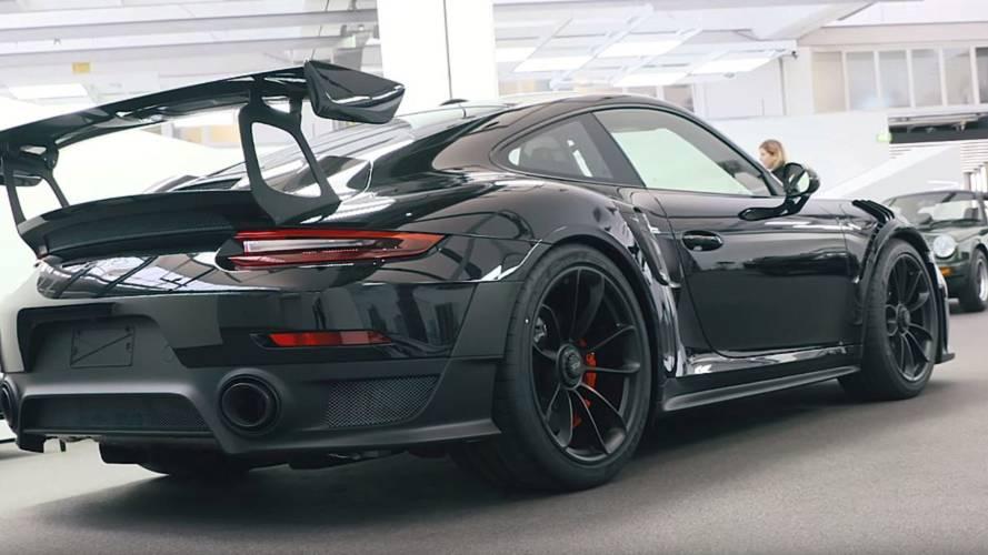 Nico Rosberg Checks Out Collection Of Exquisite Porsches
