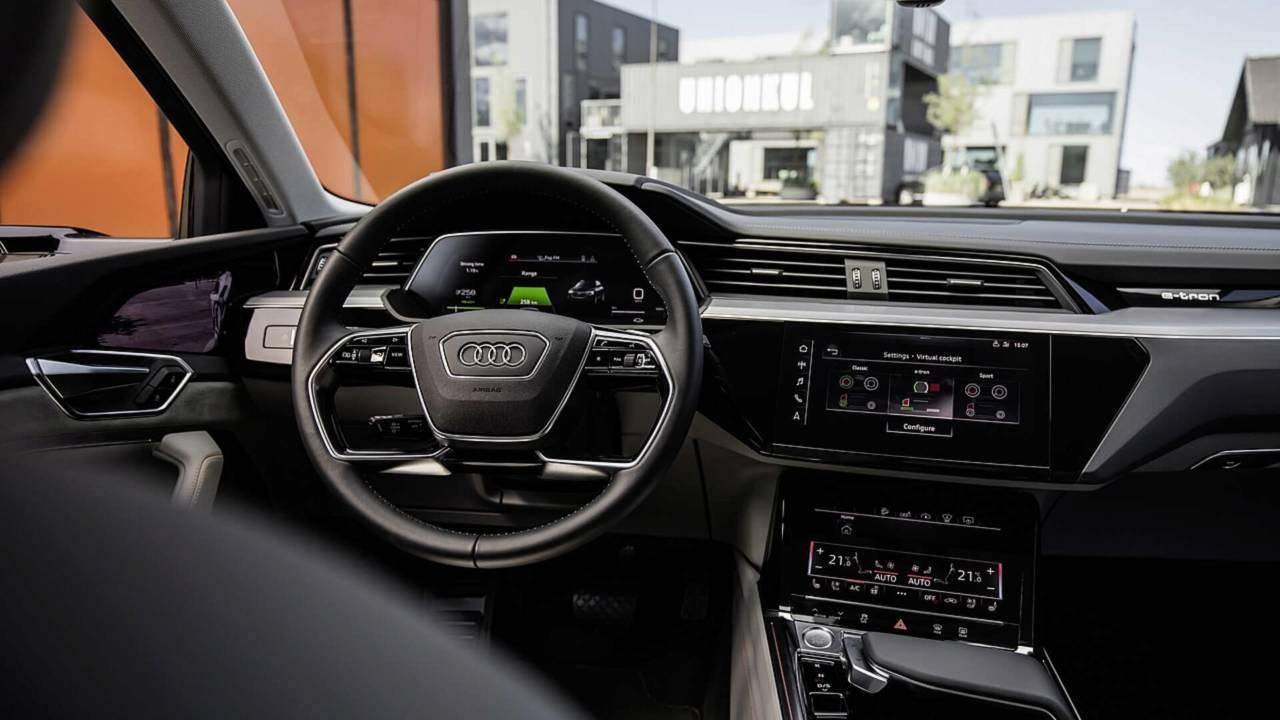 Audi E-Tron 2019 - Teasers