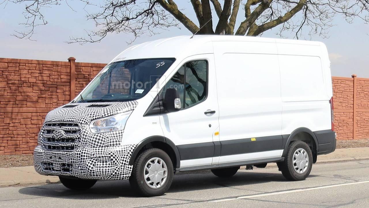 2019 Ford Transit Spy Photo