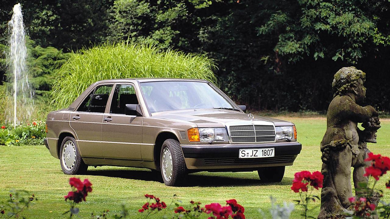 Platz 15: Mercedes 190 (Baureihe 201)