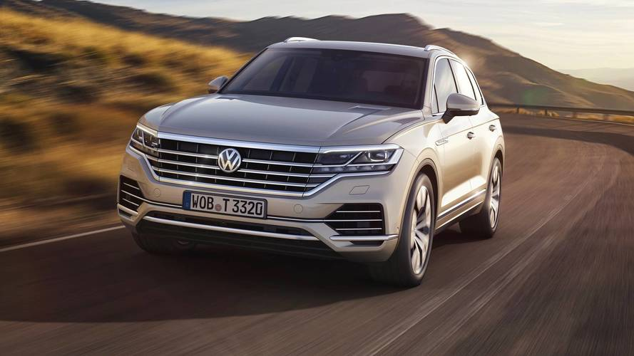 VW plonks high-powered petrol V6 under Touareg's bonnet