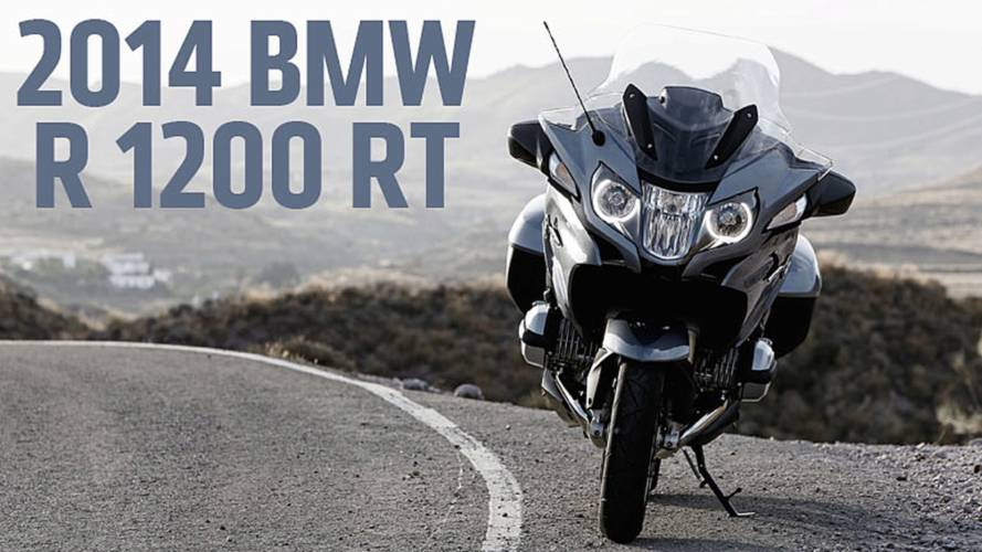 2013 EICMA: 2014 BMW R 1200 RT