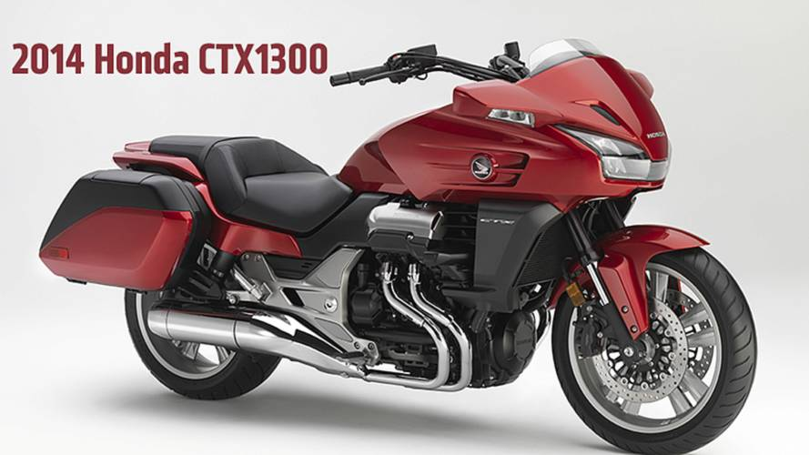 2013 EICMA: 2014 Honda CTX1300 — First Photos and Specs