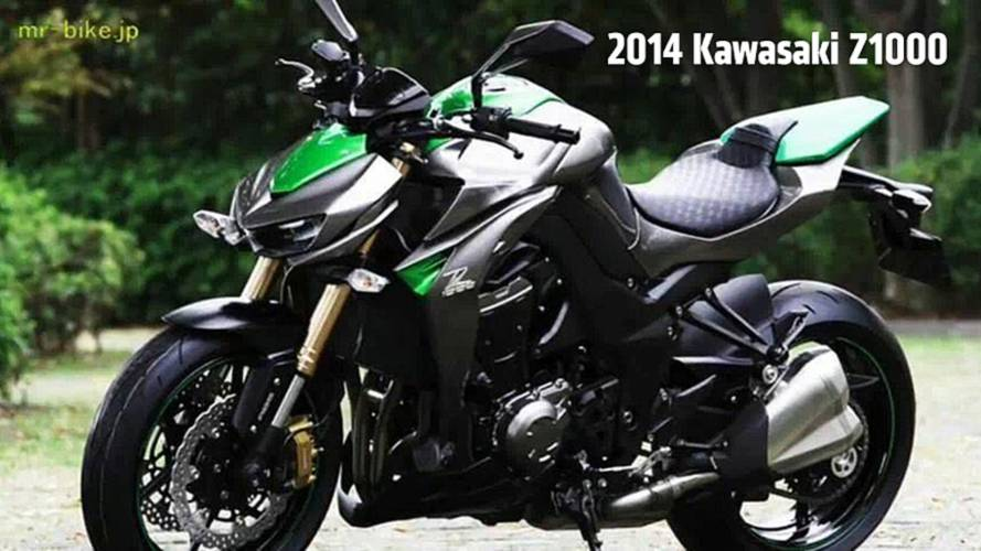 2014 Kawasaki Z1000: More Photos Leak Online