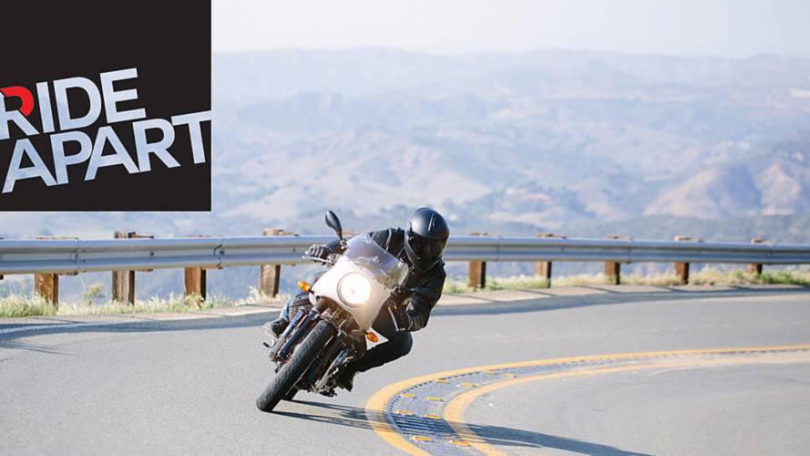 RideApart Review: Moto Guzzi V7 Racer Record