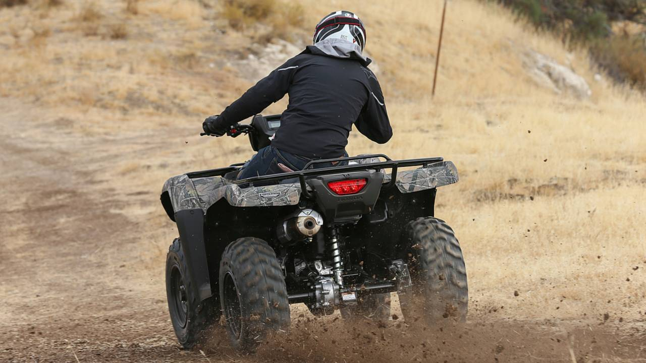 2014 Honda FourTrax Foreman 4x4 ATV Review