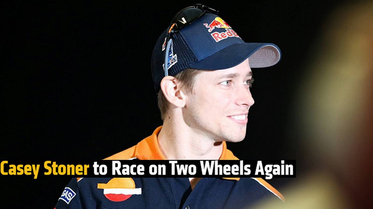 Casey Stoner to Race on Two Wheels Again