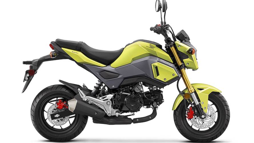 Honda Grom Gets Makeover for 2017