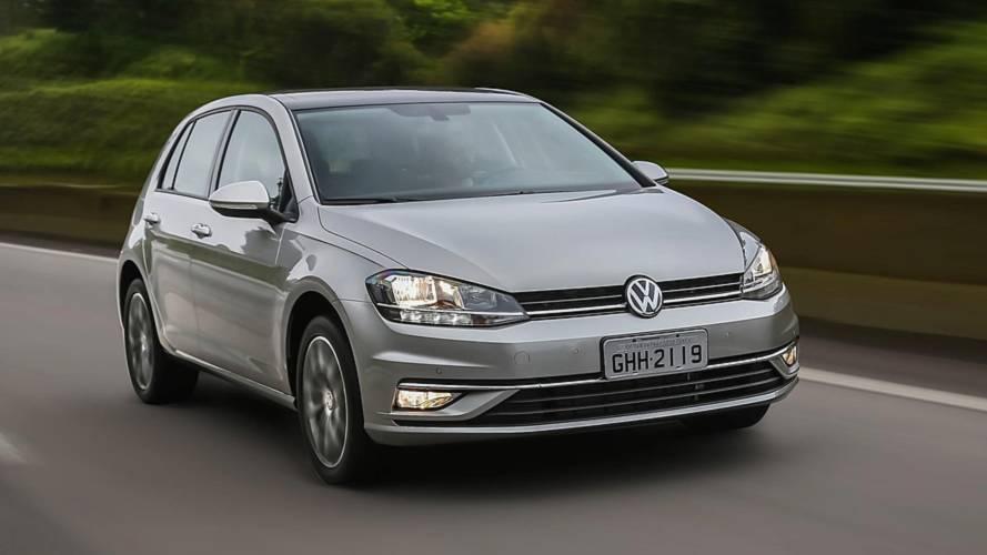 Hatches médios mais vendidos em julho: VW Golf renovado ainda não mostra a que veio