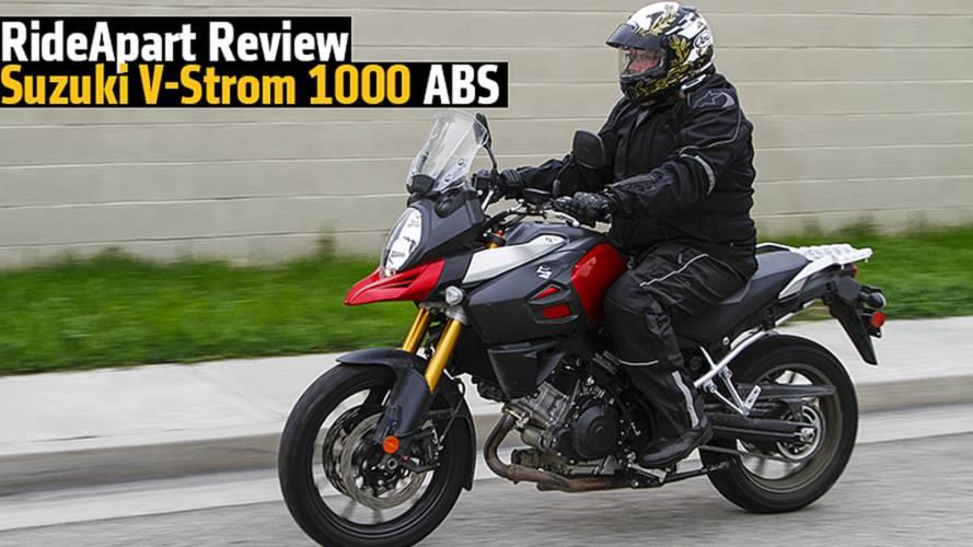 RideApart Review: 2015 Suzuki V-Strom 1000 ABS