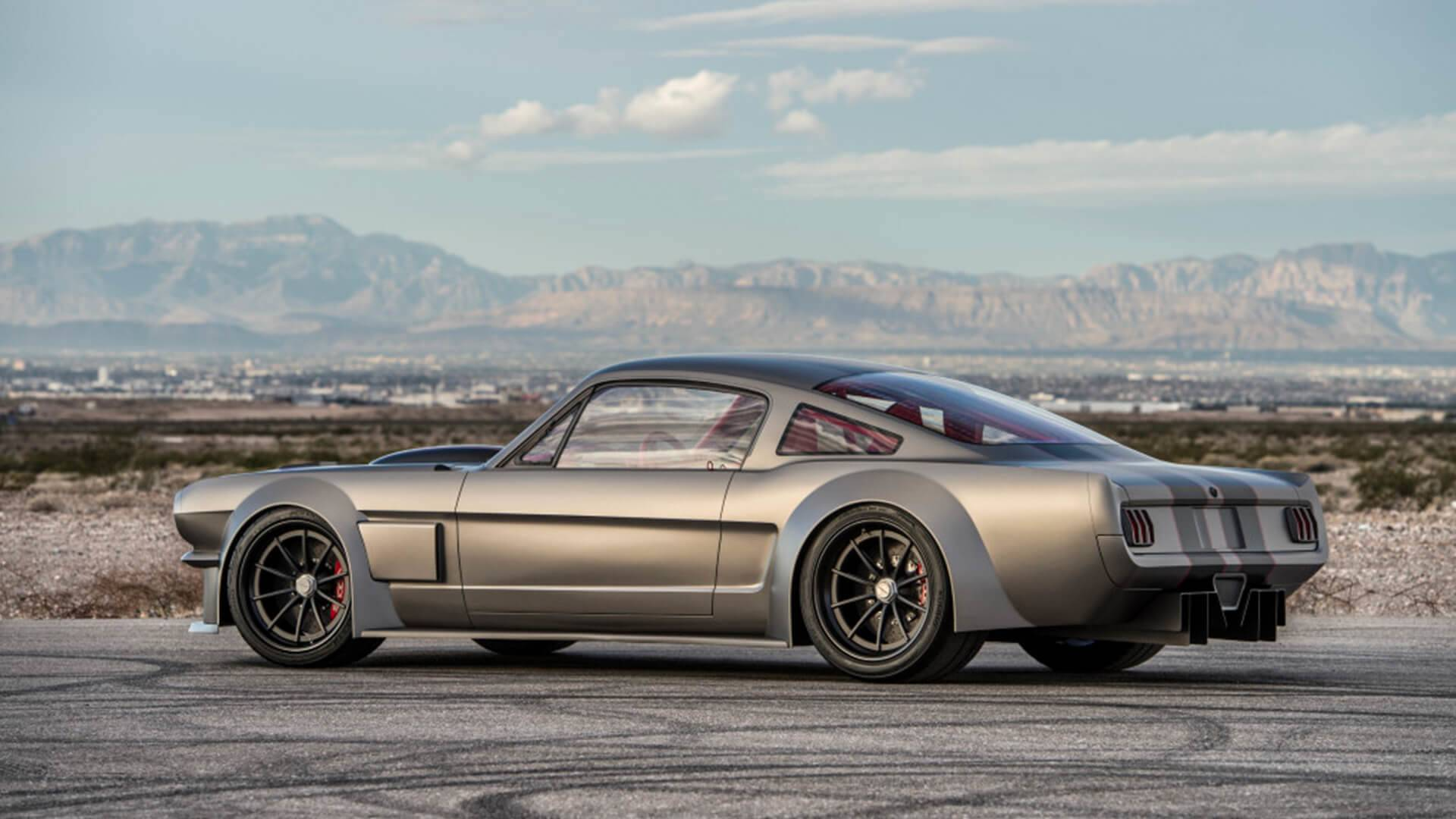 Check out this vicious 1000 horsepower 1965 ford mustang