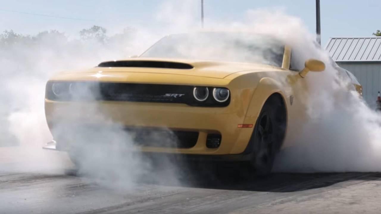 Hennessey Modifiyeli Dodge SRT Demon