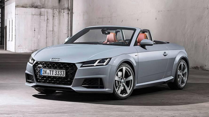 Audi TT 2015 vs 2019