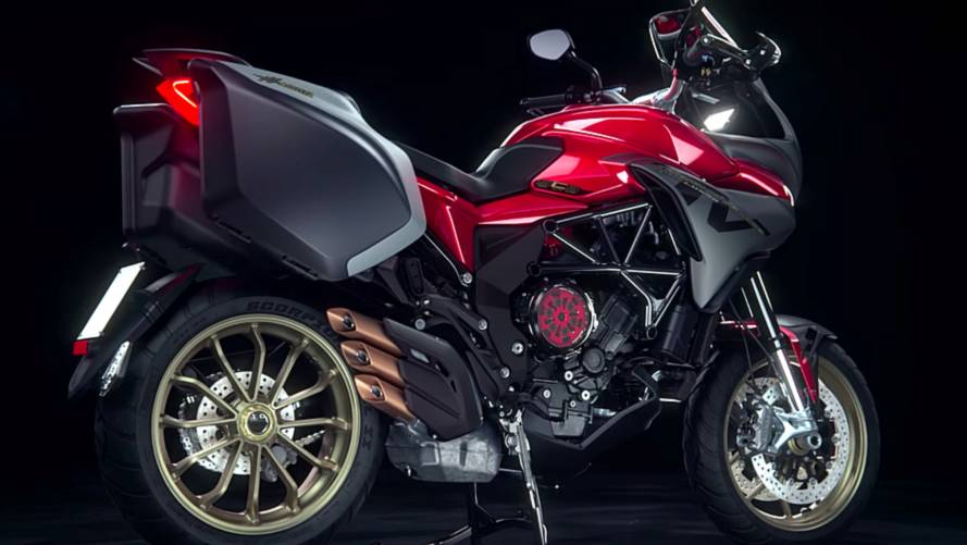 MV Agusta Tourer Now With Semi-Auto Clutch
