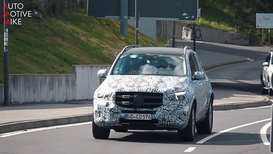 Yeni Mercedes GLE, Nürburgring'de görüntülendi