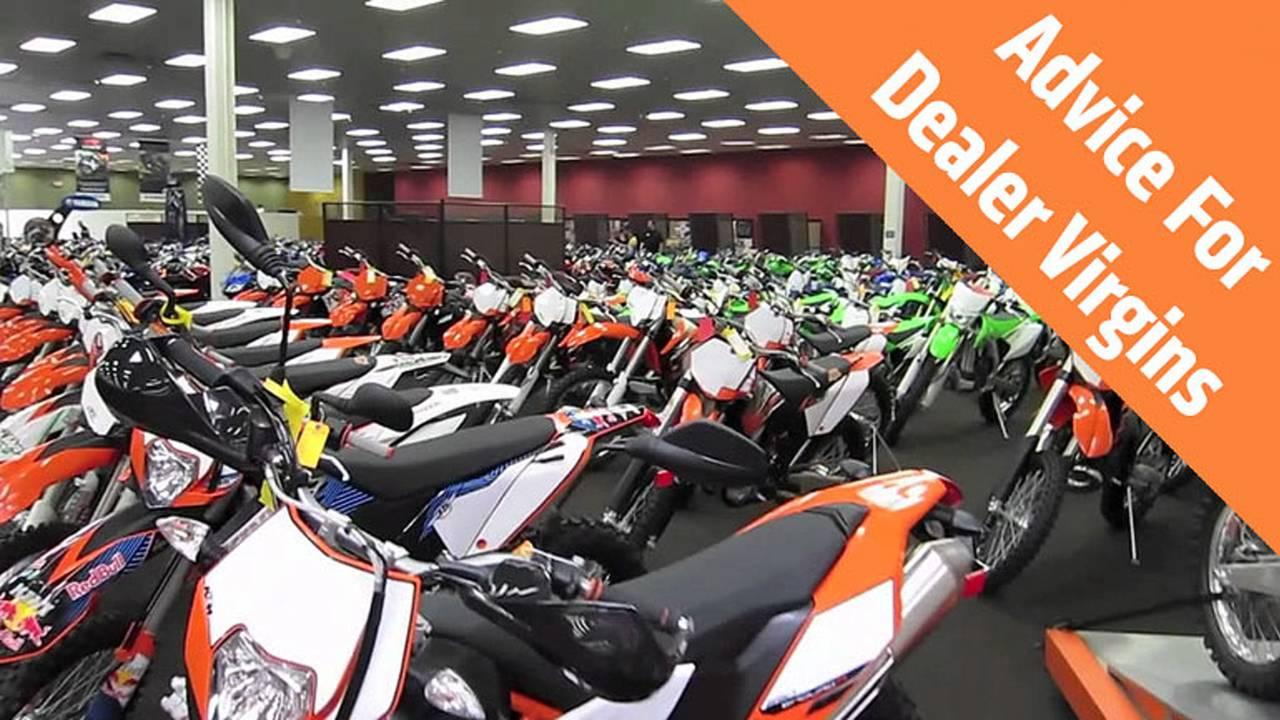 How To Buy A New Motorcycle - Advice for Dealership Virgins