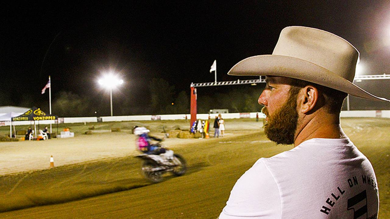 My First Flat Track Race - Hell on Wheels Racing