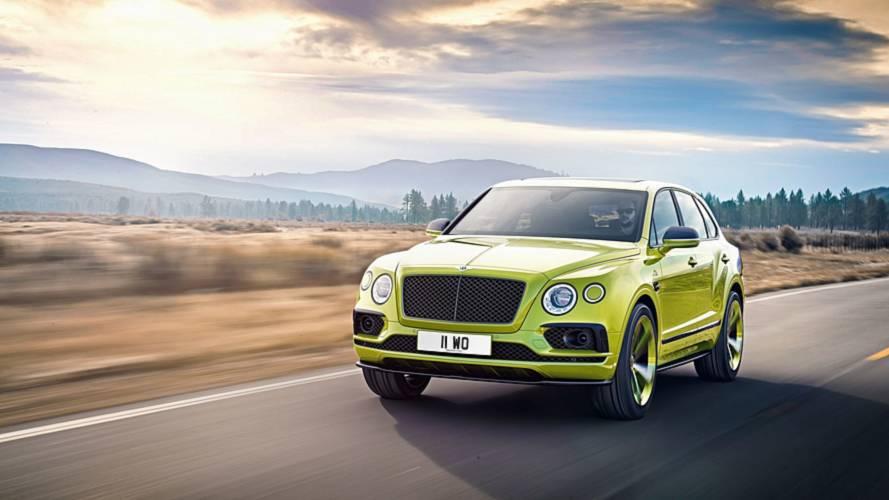 В России продадут уникальную Bentley Bentayga