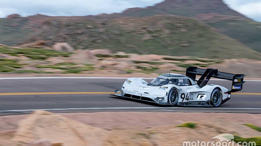 Dumas destroza el récord de Pikes Peak con el Volkswagen I.D. R