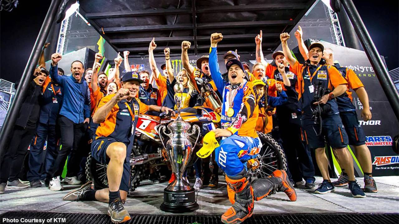 Going Out On Top - Motocross Champion Ryan Dungey Retires