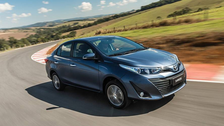 """Primeiras Impressões: Toyota Yaris Sedan XLS 2019 é o """"completão"""" japonês"""