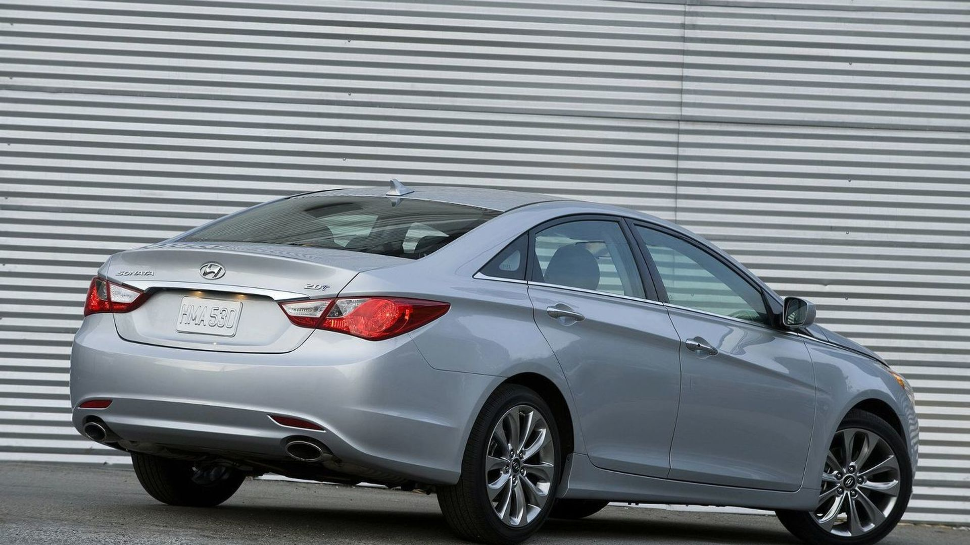 2011 Hyundai Sonata 2.0T Announced   Twin Scroll Turbocharger And Direct  Injection