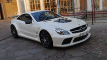 Brabus Stealth 65 based on Mercedes SL65 Black Series 24.05.2010