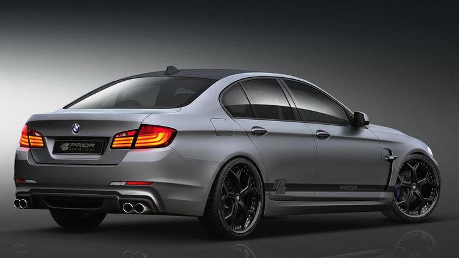 Spiksplinternieuw BMW 5-Series F10 Prior Design aerodynamic-kit preview LB-98