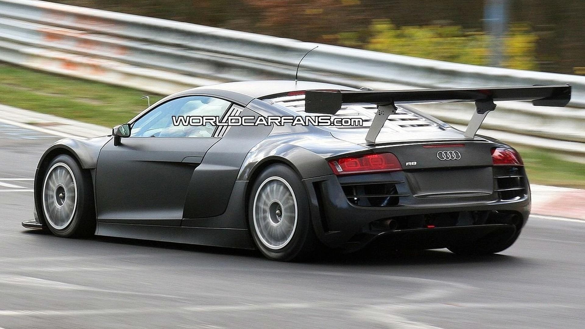 Audi r8 gt3 spied at nrburgring publicscrutiny Images