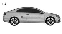 VW Jetta Coupe design Patent Image
