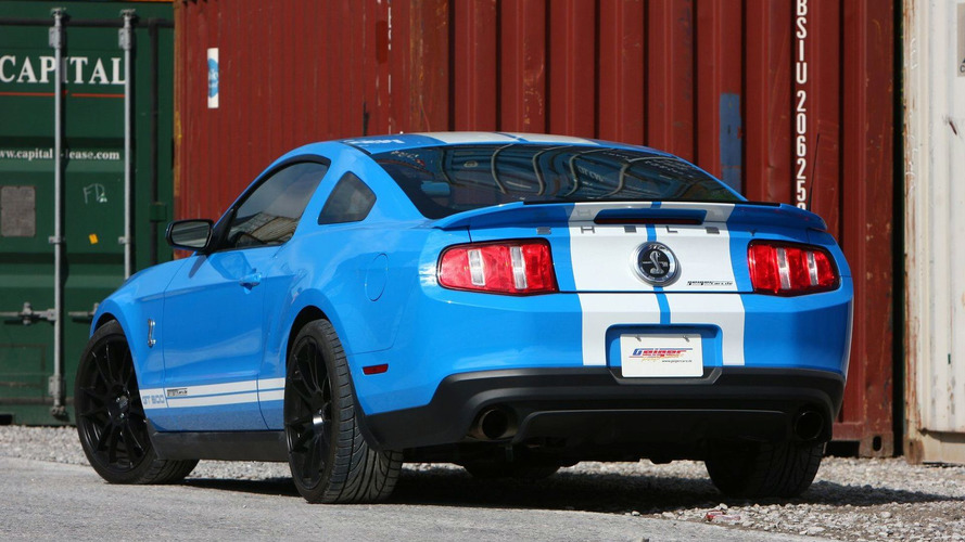 GeigerCars Bumps 2010 Ford Shelby GT500 Mustang up to 810 PS