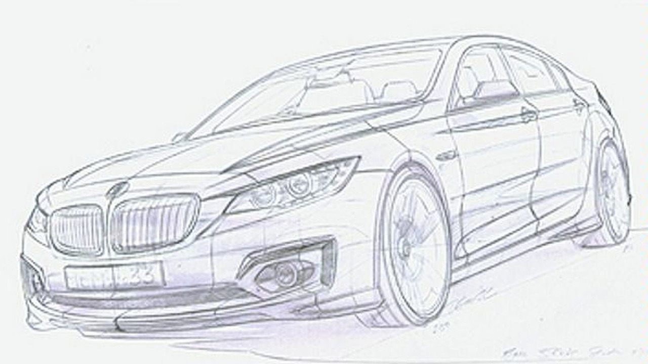 Unidentified 2011 Bmw 3 Series Design Sketch 1 Of 7 Motor1