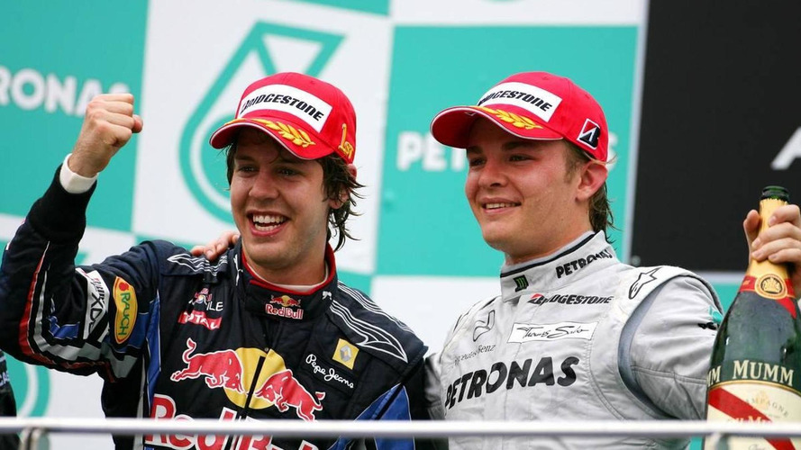 Rosberg as good as Vettel, Sutil a surprise - Berger