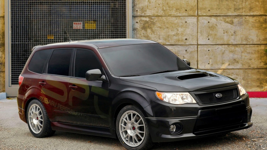 Subaru Unveils Forester XTI Concept with WRX STI Engine