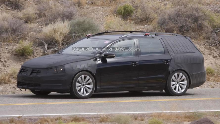 2012 Volkswagen Passat Variant spied hot weather testing
