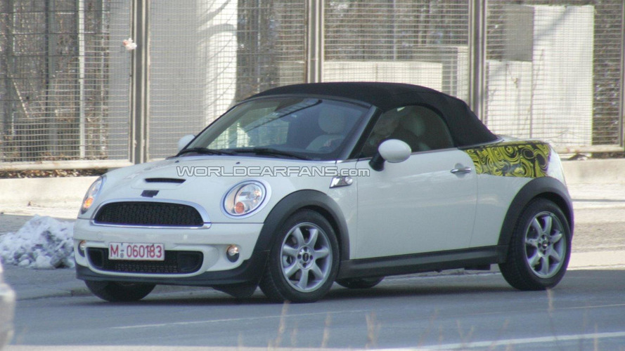 2012 MINI Roadster spied again