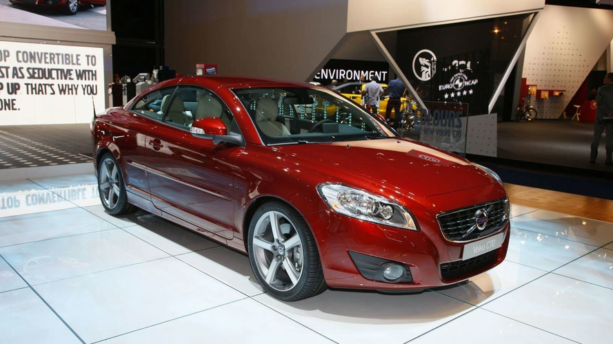 Volvo C70 Facelift Drops Top in Frankfurt