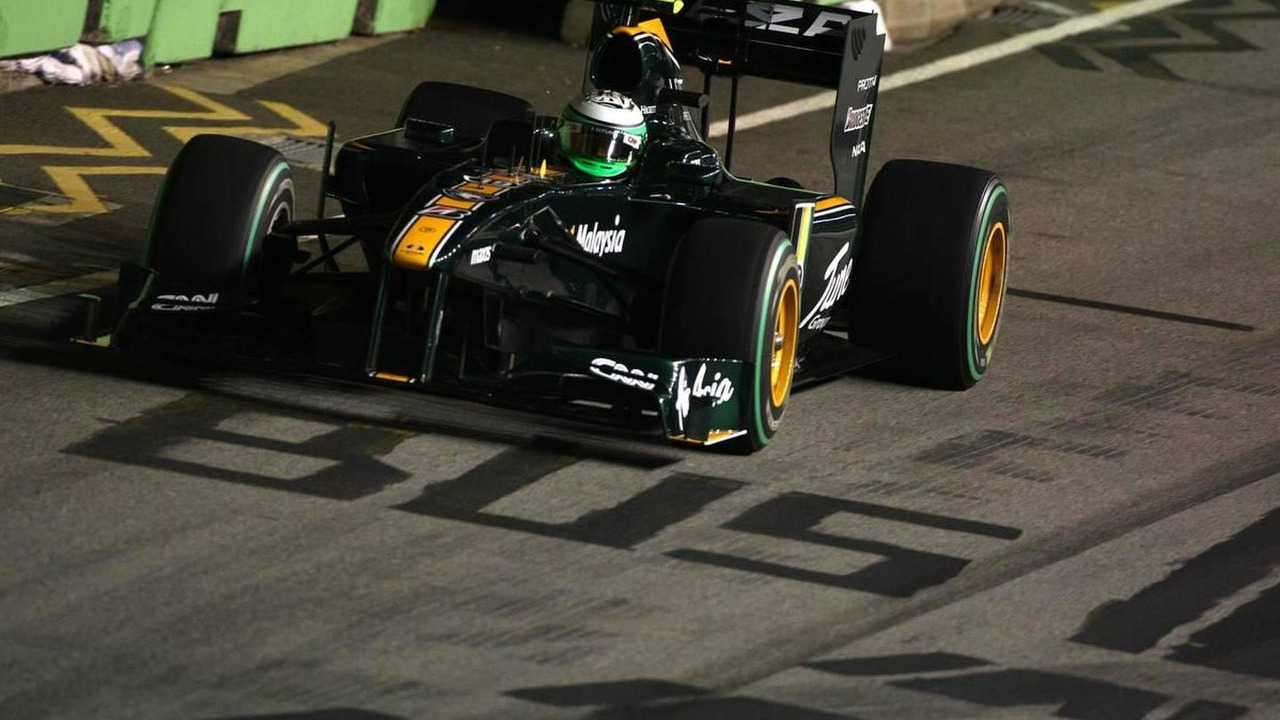 Heikki Kovalainen (FIN), Lotus F1 Team - Formula 1 World Championship, Rd 15, Singapore Grand Prix, 26.09.2010