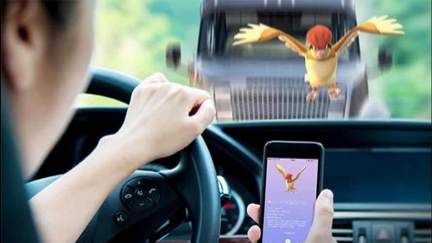 Pokémon Go, negli Stati Uniti guadagna chi guida