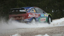 Jari-Matti Latvala at WRC Sweden