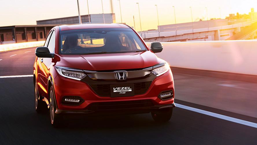 Honda HR-V, prime foto del restyling