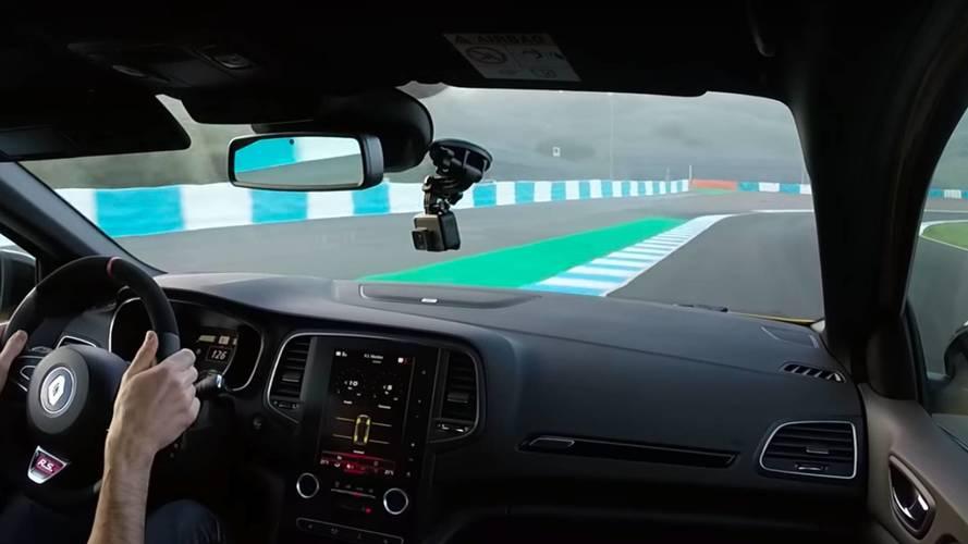 2018 Renault Megane RS'in pist performansını izleyin