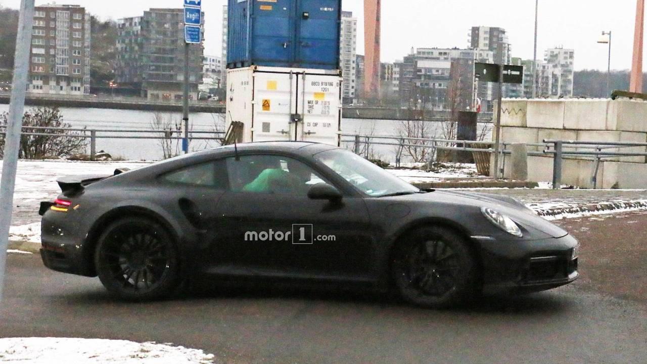 Porsche 911 Turbo nuevas fotos espía