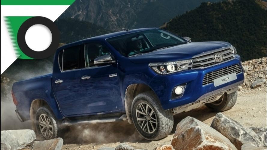 Toyota Hilux, un 4x4 a 5 stelle